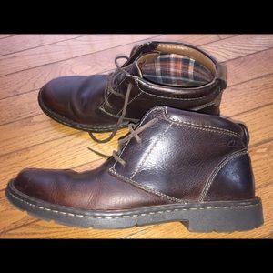 Clark's men's boots.